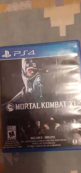 Hola vendo disco de mortal kombat X