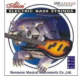 Encordados Alice Para Bajo 4 y 5 Cuerdas Juego Completo