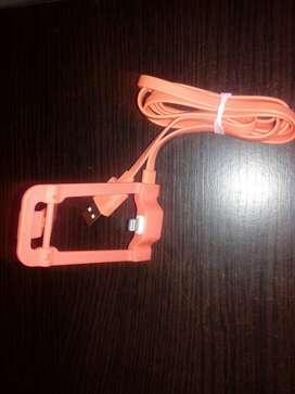 CABLE  BASE  CARGA RAPIDA PARA  iPhone  USB  Y  ENERGIA