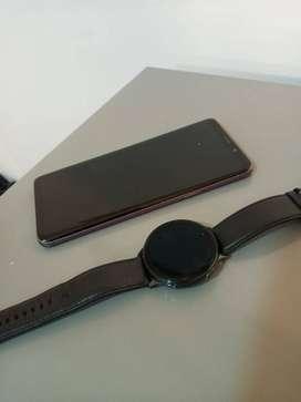 S9 plus y reloj active 2 samsung