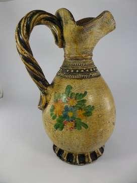 Jarrón ceramica pintado a mano