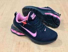 Tenis Nike Air Max Reax Run Negro Rosa Envio Gratis