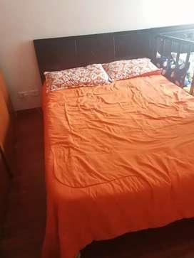 Cama doble 140 *190 colchón SPRING doble cara