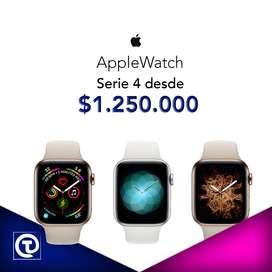 AppleWatch Iwatch Apple Serie 4, 40mm y 44mm, Nuevos, sellados, Garantia 1 año. Tienda Fisica.