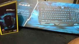 Teclado + Mouse Gamer (Combo)