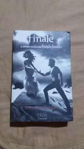 Libro final de la saga hush hush