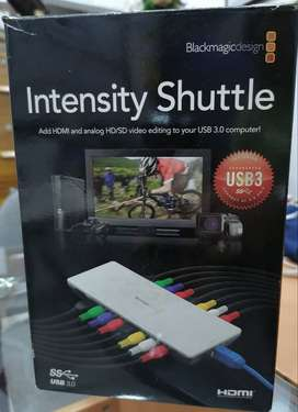Intensity Shuttle Blackmagic design USB 3.0