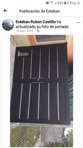 Fabricación de portones puertas rejas
