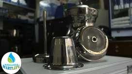 Cafeteras de acero inoxidable 2 litros