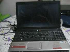 Notebook Compaq Presario Cq60 Doble Nucleo Ram 3gb Excelente