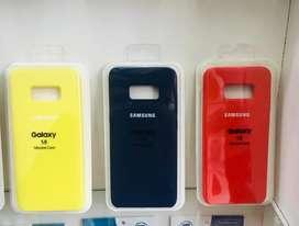 Silicone case para Samsung (varios colores)