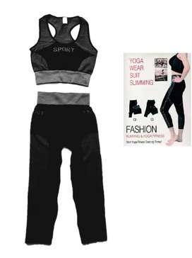 Ropa Fitness TOP PANTALONETA gimnasio moda