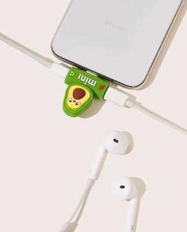 Adaptador para audifonos y cargdor de iphone 7 en adelnate