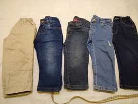 **Pantalon c/u  t 4  jean  gabardina largo 54 varios
