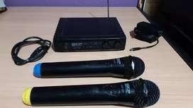 Vendo micrófonos  skp