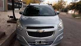 VENDO ó PERMUTO CHEVROLET SPIN 2013 LT 5 as - 69500 km - VTV 2022 - ACEITE y FILTRO nuevo - TODO AL DIA