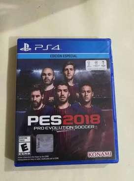 PES 2018 PS4 + Option File Full