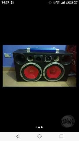 Vendo equipo de audio para auto
