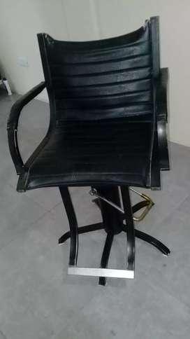 Sillón de peluqueria usado con hidraulico