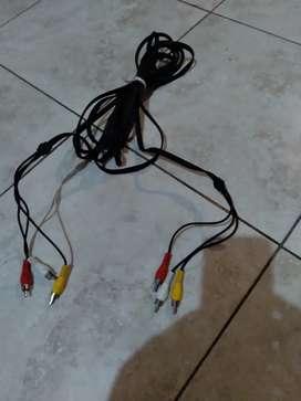 Oferta nuevo cable de audio y video de seis metros para equipos de audio y video Nintendo Americano Nintendo Creacion