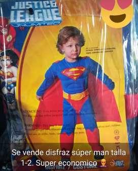 Disfraz Super Man Talla 1-2