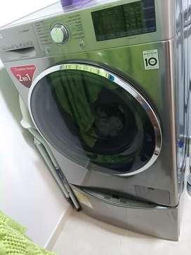 Lavadora - secadora LG