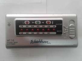 Afinador Digital Washburn Wt 10 Guitarra 6 Y 7 Cuerdas, Bajo