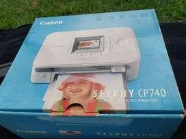 Canon Selphy Cp740 Compacto Foto Pr 4x6 2 Lcd