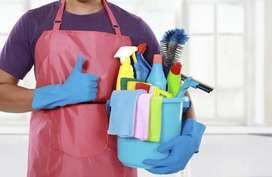 Se busca personal de limpieza con aspiraciones a aprender carpinteria, pintura o tapiceria.