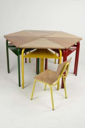 pupitres,sillas,mesas para colegio