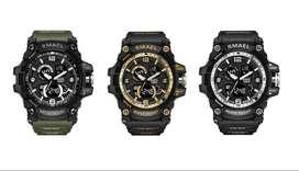 Reloj Deportivo Militar Digital-análogo Smael 50m Waterproof