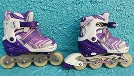 Vendo patines semiprofesionales para niña