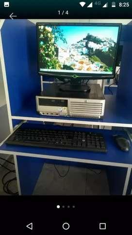 Cpu computador hp torre