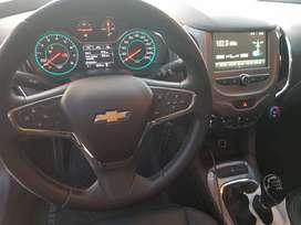 Chevrolet Cruze 2019 1.4 turbo LT:  - 42.800 km - climatizador automático - Levanta cristales en 4 puertas