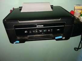 Vendo Impresora Epson L375 Exelente Esta