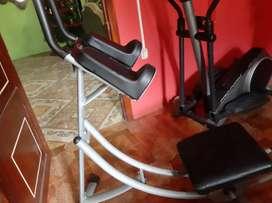 Maquinas para hacer ejercicio en buen estado y negosiable!