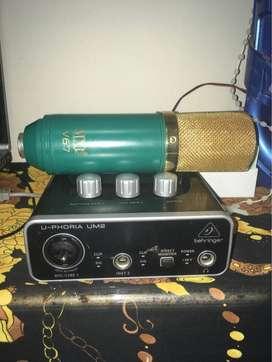 microfono condensador MXL-V67 combo