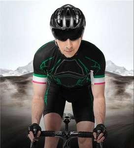 Casco De Bicicleta MTB/RUTA Ultraligero Con Lente Magnetico Incluido INBIKE Negro Con Plata