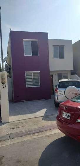Vendo casa en Urbanizacion Ciudad el Valle(Babahoyo)Financiamiento con el Biess