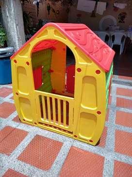 Casa Infantil + carro montable