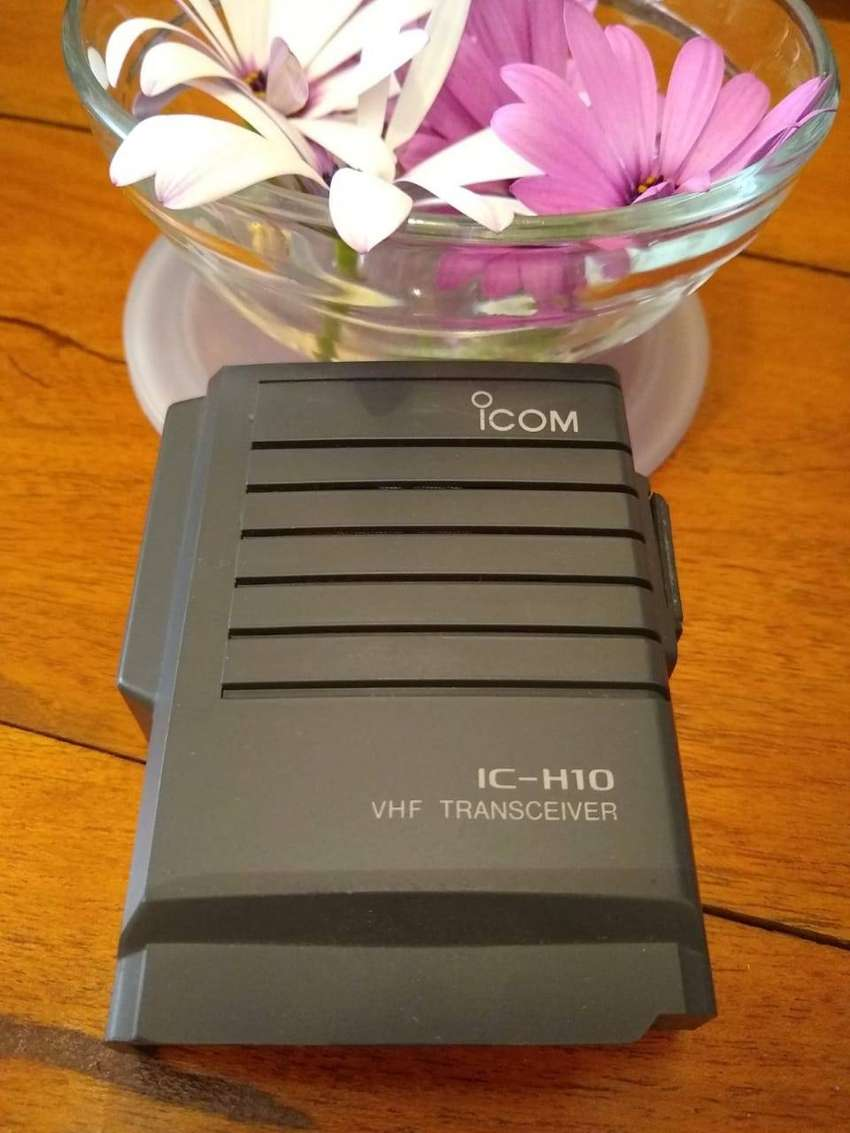 ICOM FRENTE DE IC-H10 0