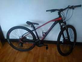 Bicicleta Tucana Optimus 8 cambios