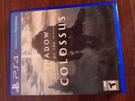 Shadow of the colossus PS4 físico