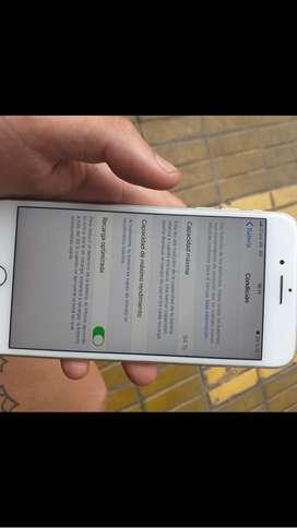 Vendo iphone impecable 7 plus 46000