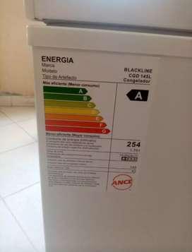 Congeladora 145 litros