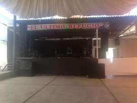 Se vende escenario para eventos artístisticos
