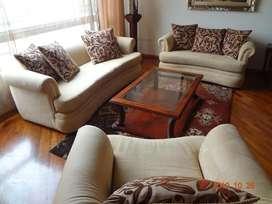 Vendo juego de sala o sillones por separado
