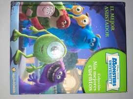"""Libro """"El mejor asustador"""" Monsters University"""