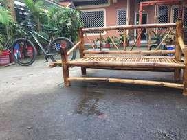 Se vende lindo muble rustico de bambu ecologico ideal para casa de campo