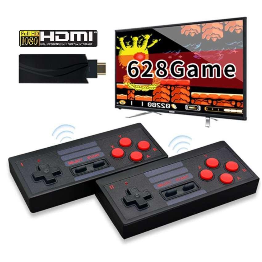 Consola De Juegos Inalámbrica HDMI 628 Juegos 8bit Game Box